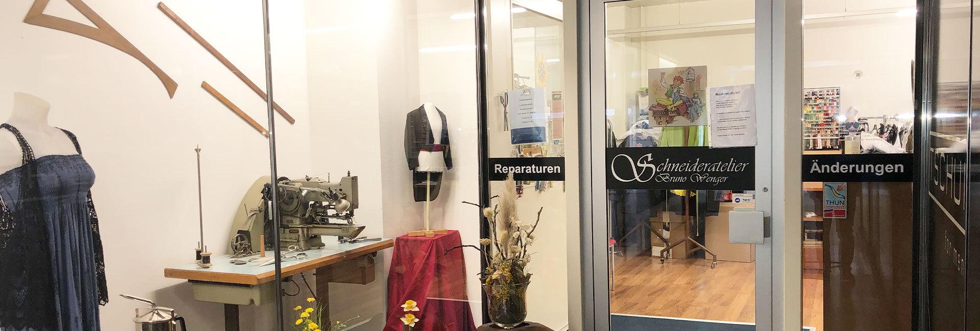 Kleideränderungen aller Art - Schneideratelier Wenger Thun